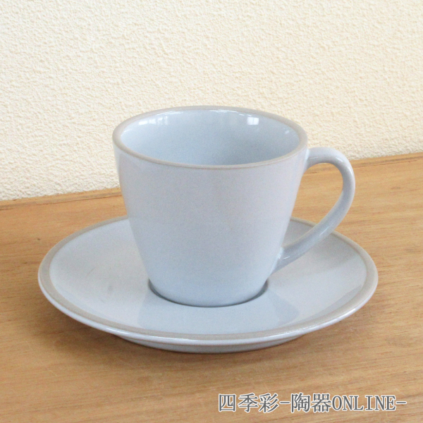コーヒーカップ ソーサー マイルドホワイト ルスト