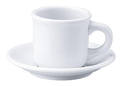 コーヒーカップソーサー カントリーサイド 白 ミルキーウェイ 洋食器 業務用食器 商品番号:k113052-113056