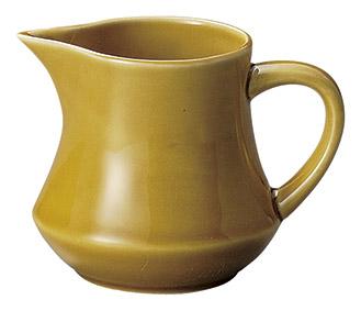 ミルクピッチャー アンバー カントリーサイド クリーマー 陶器 業務用食器 商品番号:k11360063