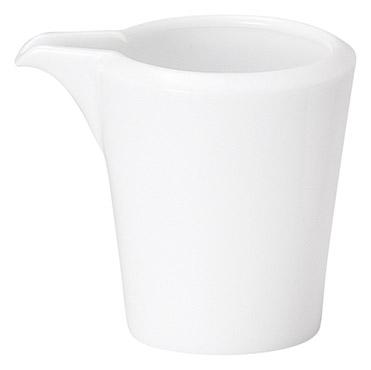 ミルクピッチャー ピュアホワイト スパダ クリーマー 陶器 業務用食器 商品番号:k11600063
