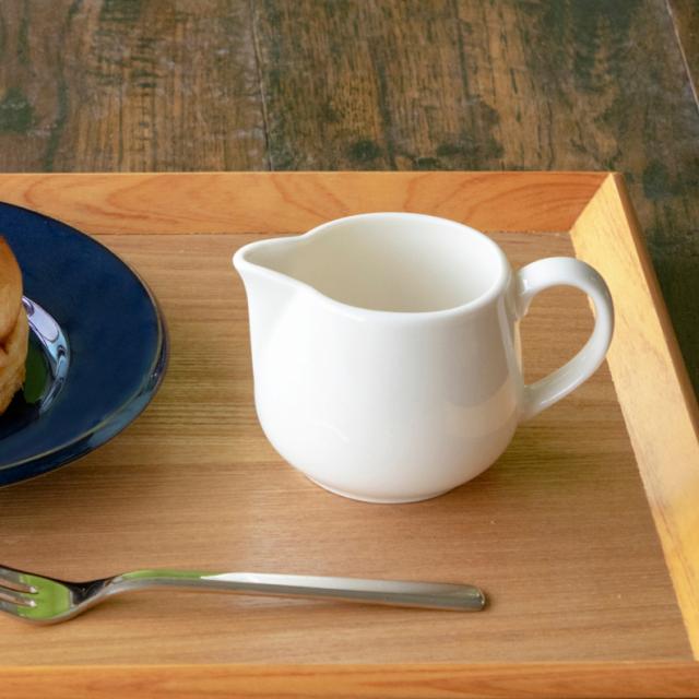 ミルクピッチャー ボーンセラム クリーマー 陶器 業務用食器 商品番号:k12120067