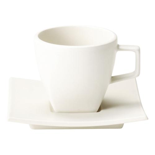 コーヒーカップ ソーサー 白 スノーホワイト カルマ