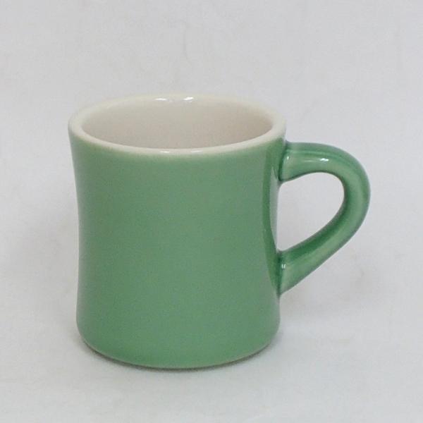 マグカップ カントリーサイド ジェイド 緑 陶器 業務用食器 商品番号:k133251