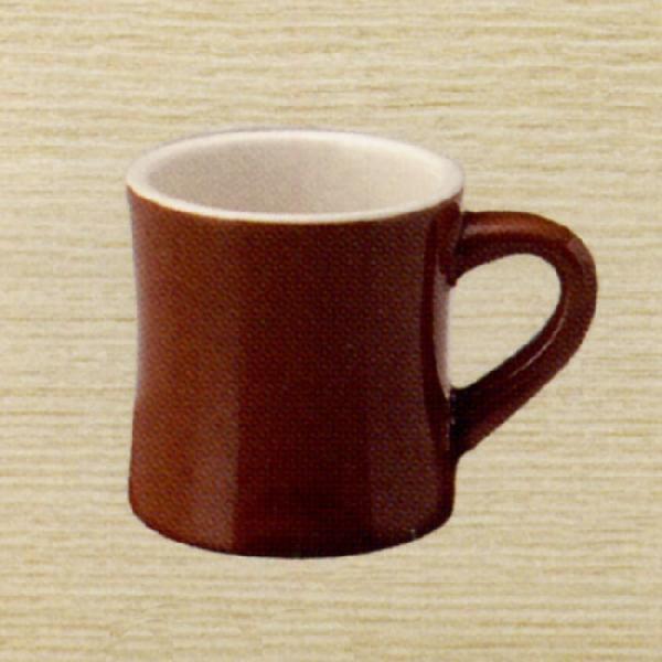マグカップ カントリーサイド チャコールブラウン 陶器 業務用食器 商品番号:k133651