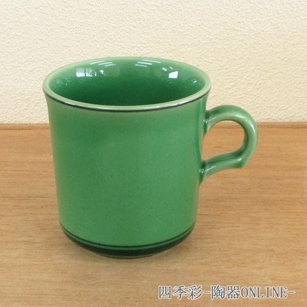 マグカップ フォレストグリーン 陶器 業務用 おしゃれ かわいい 商品番号:k13478050