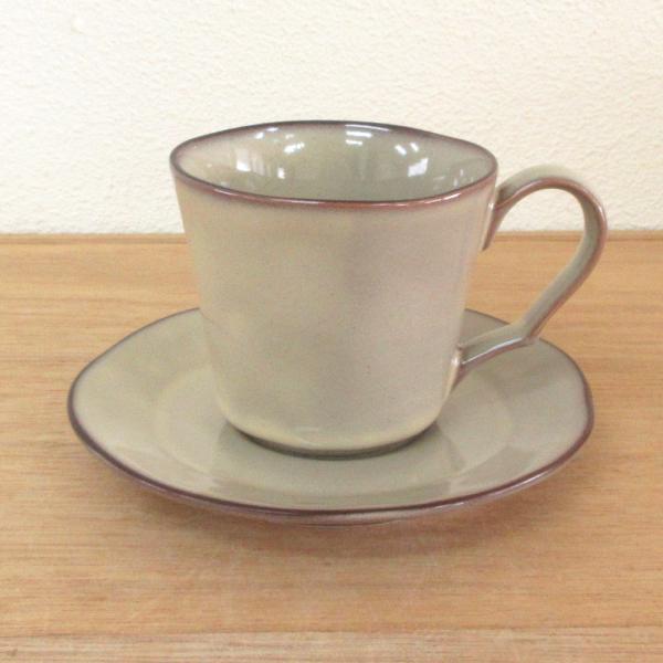 コーヒーカップ ソーサー ラフェルムシナモンベージュ