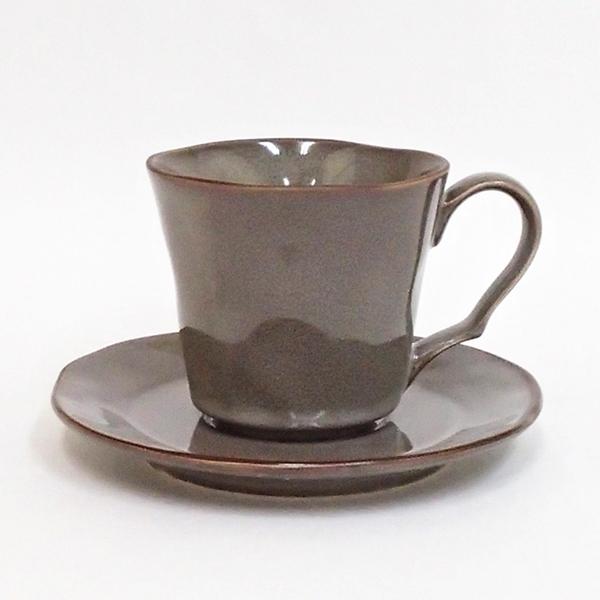 コーヒーカップ ソーサー ラフェルム ストームグレー