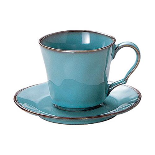 コーヒーカップ ソーサー ラフェルム アンティ-クブルー