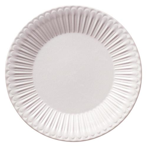 24cmプレート ストーリア ラスティックホワイト 商品番号:k16710004