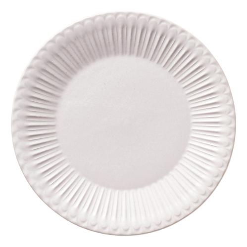 18cmプレート ストーリア ラスティックホワイト 商品番号:k16710007