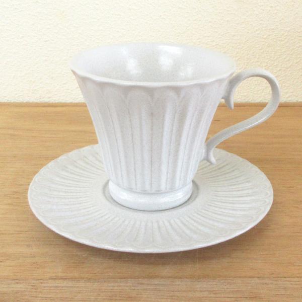 コーヒーカップ ソーサー ラスティクホワイト ストーリア