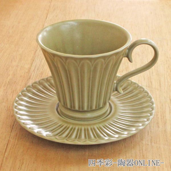 コーヒーカップ ソーサー ウィートイエロー ストーリア 洋食器 業務用食器 商品番号:k16722052-16722055