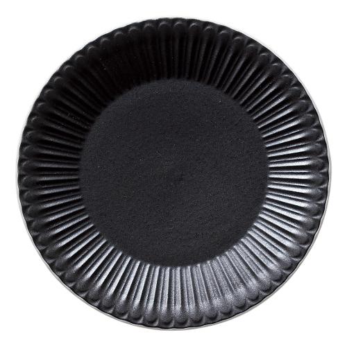 18cmプレート ストーリア クリスタルブラック 商品番号:k16731007