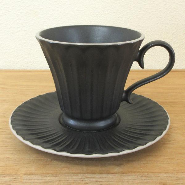 コーヒーカップ ソーサー クリスタルブラック ストーリア