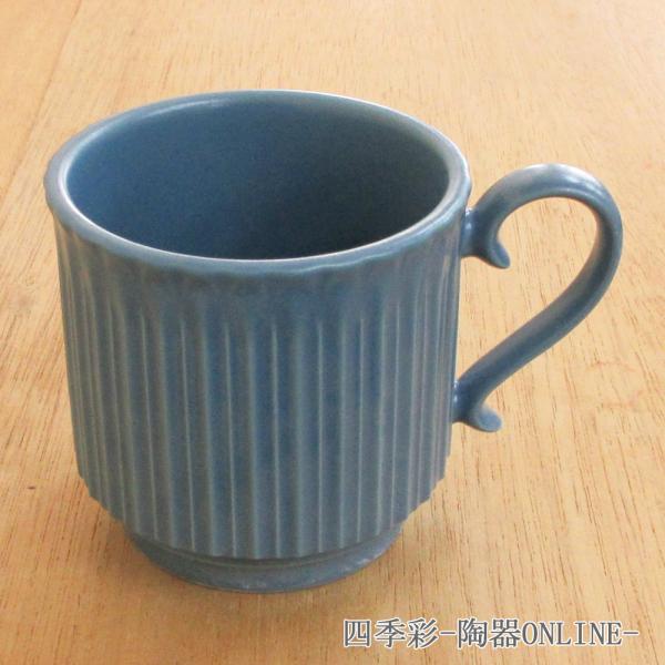 マグカップ ストーリア スモーキーブルー 陶器 業務用食器 商品番号:k16787450