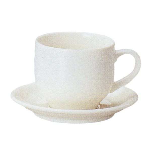 アメリカンコーヒーカップソーサー 白 ニューボン ボーンセラム 洋食器 業務用食器 商品番号:k210051-210055