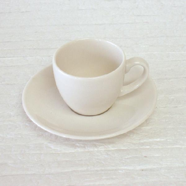 エスプレッソカップソーサー 白 ニューボン ボーンセラム 洋食器 業務用食器 商品番号:k210058-210059