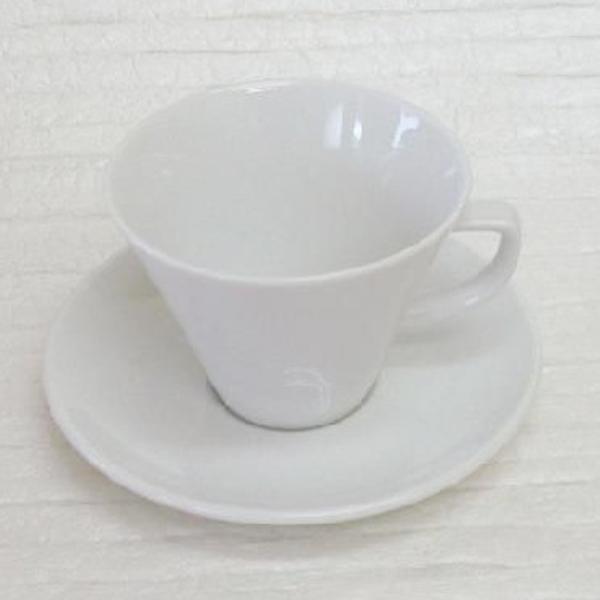 アメリカンコーヒーカップソーサー 白 スプラウト 洋食器 業務用食器 商品番号:k230051-700055