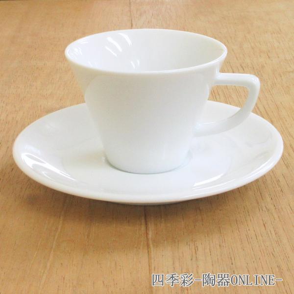 エスプレッソカップソーサー 白 スプラウト 洋食器 業務用食器 商品番号:k230058-700059