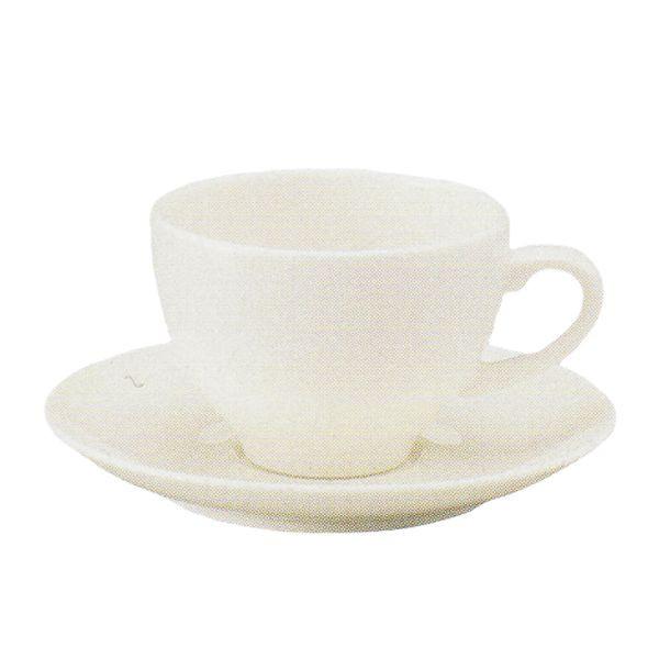 アメリカンコーヒーカップソーサー 白 ニューボン ボンボヤージ 洋食器 業務用食器 商品番号:k240051-310155