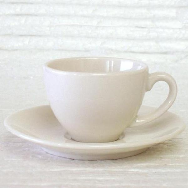 エスプレッソカップソーサー 白 ニューボン ボンボヤージ 洋食器 業務用食器 商品番号:k240058-210059