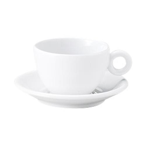 コーヒーカップソーサー ピュアホワイト ブリオ