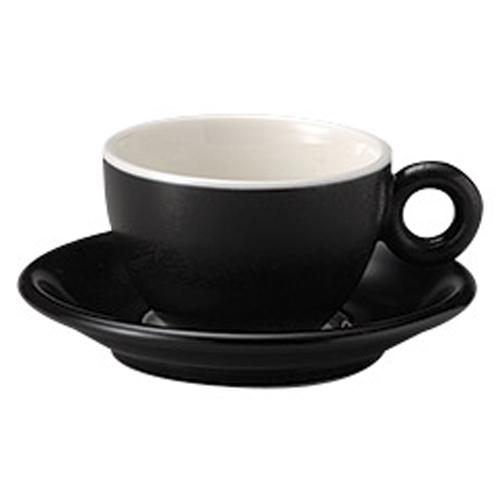 コーヒーカップソーサー ブラック ブリオ