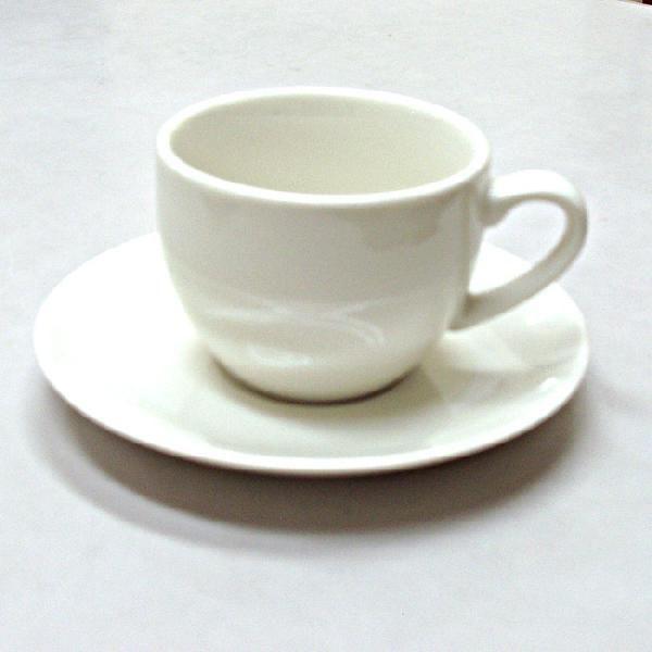 アメリカンコーヒーカップソーサー 白 ニューボン ボンクジィーン 洋食器 業務用食器 商品番号:k310151-310155