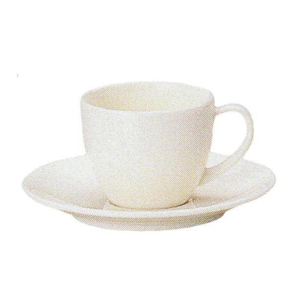 エスプレッソカップソーサー 白 ニューボン ボンクジィーン 洋食器 業務用食器 商品番号:k310158-210059