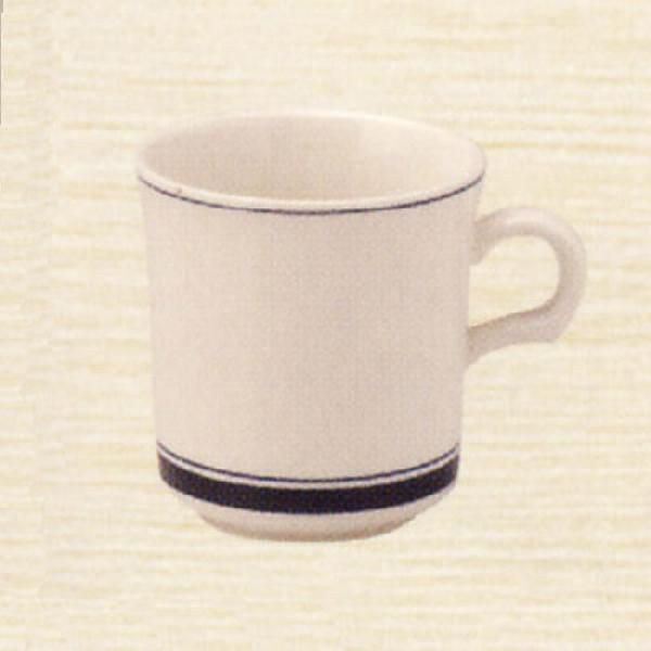 マグカップ カントリーサイド ネイビーブルー 陶器 業務用食器 商品番号:k344150