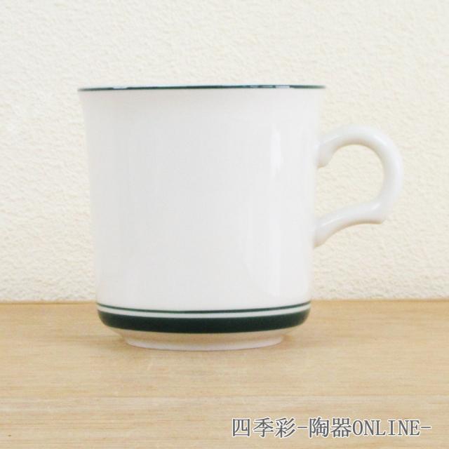 マグカップ カントリーサイド モスグリーン  陶器 業務用食器 商品番号:k344250