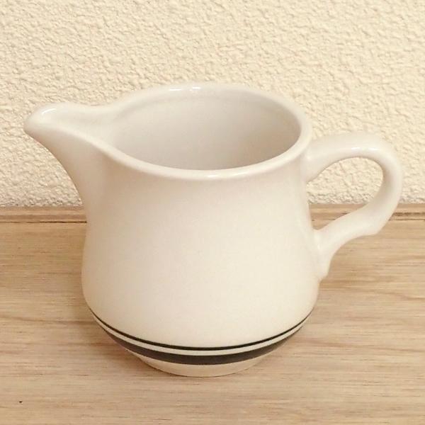 ミルクピッチャー カントリーサイド モスグリーン クリーマー 陶器 業務用食器 商品番号:k344263