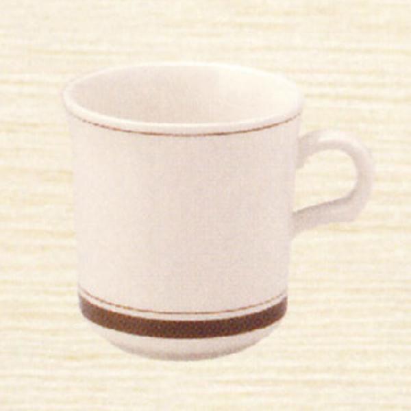 マグカップ カントリーサイド ダークブラウン  陶器 業務用食器 商品番号:k344650