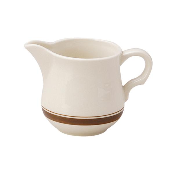 ミルクピッチャー カントリーサイド ダークブラウン クリーマー 陶器 業務用食器 商品番号:k344663