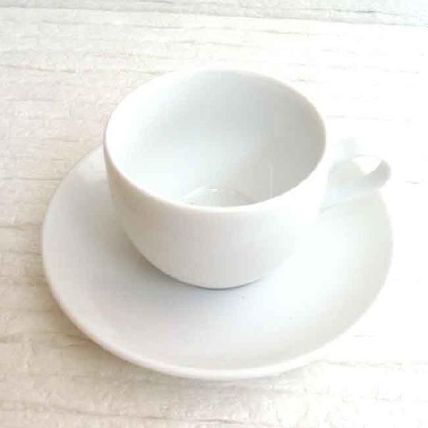 アメリカンコーヒーカップソーサー 白 プラージュ 洋食器 業務用食器 商品番号:k370051-700055