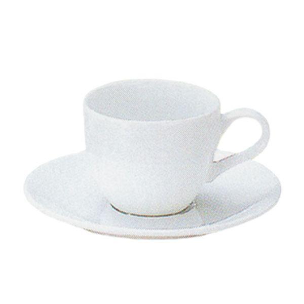 エスプレッソカップソーサー 白 プラージュ 洋食器 業務用食器 商品番号:k370058-700059