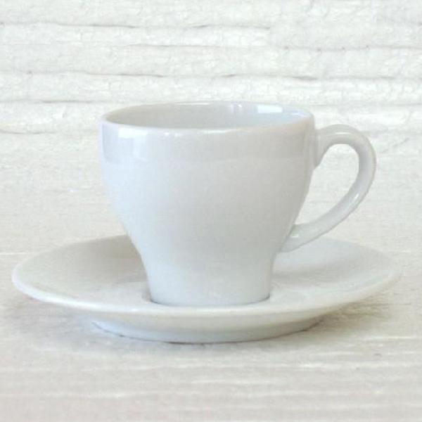 エスプレッソカップソーサー 白 タイド 洋食器 業務用食器 商品番号:k410058-700059