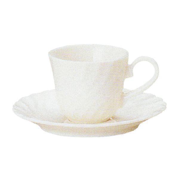 エスプレッソカップソーサー 白 ニューボン エスポアール 洋食器 業務用食器 商品番号:k520058-520059