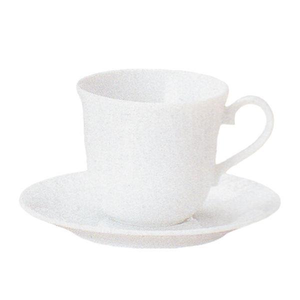 アメリカンコーヒーカップソーサー 白 リヴァージュ 洋食器 業務用食器 商品番号:k530051-530055