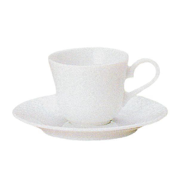 エスプレッソカップソーサー 白 リヴァージュ 洋食器 業務用食器 商品番号:k530058-530059