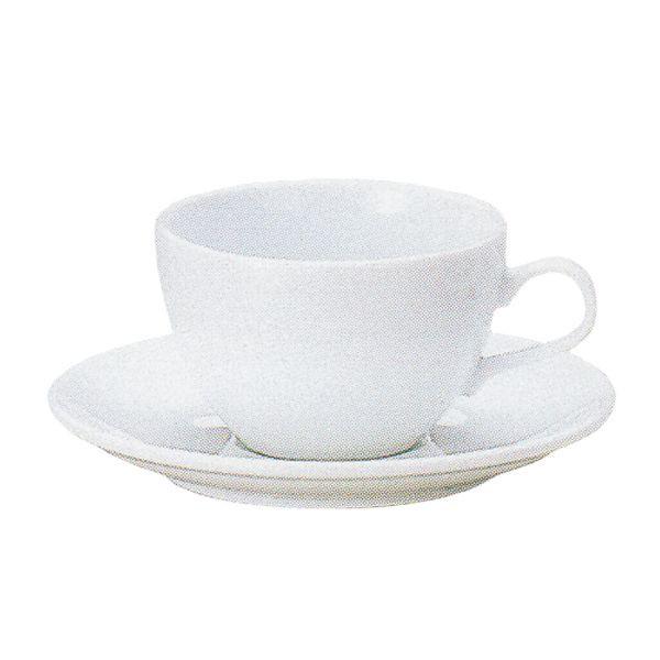 アメリカンコーヒーカップソーサー 白 ネージュ 洋食器 業務用食器 商品番号:k560051-700055