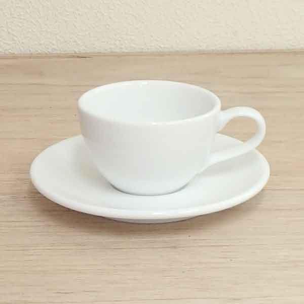 エスプレッソカップソーサー 白 ネージュ 洋食器 業務用食器 商品番号:k560058-700059