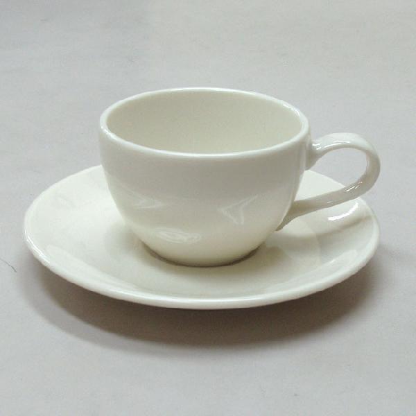 エスプレッソカップソーサー 白 ニューボン ラテ 洋食器 業務用食器 商品番号:k565058-210059