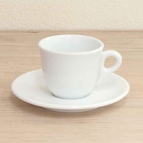 エスプレッソカップソーサー 白 マーレ 洋食器 業務用食器 商品番号:k700058-700059