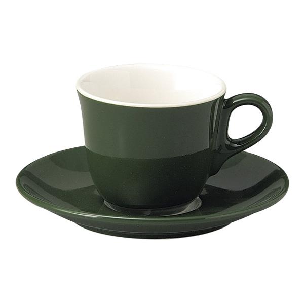 コーヒーカップソーサー グリーン マーレ