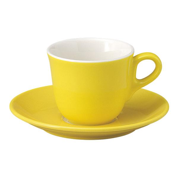コーヒーカップソーサー イエロー マーレ