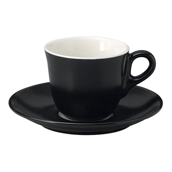 コーヒーカップソーサー ブラック マーレ