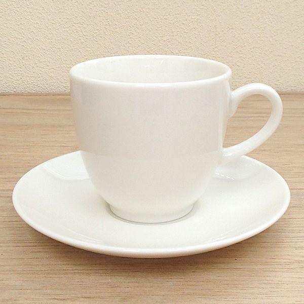 アメリカンコーヒーカップソーサー 白 ニューボン クレーマ 洋食器 業務用食器 商品番号:k775051-310155