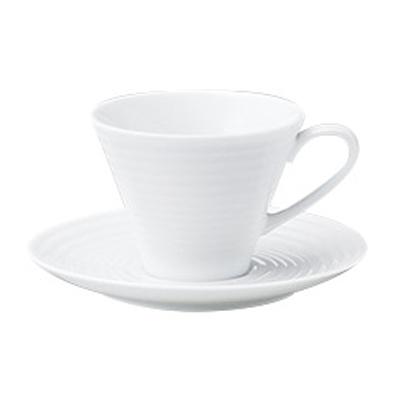 コーヒーカップソーサー ピュアホワイト アルバ