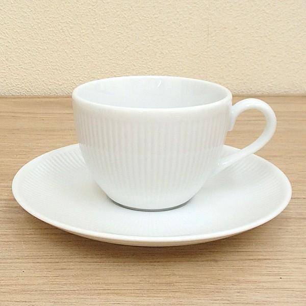 コーヒーカップソーサー ピュアホワイト シフォン